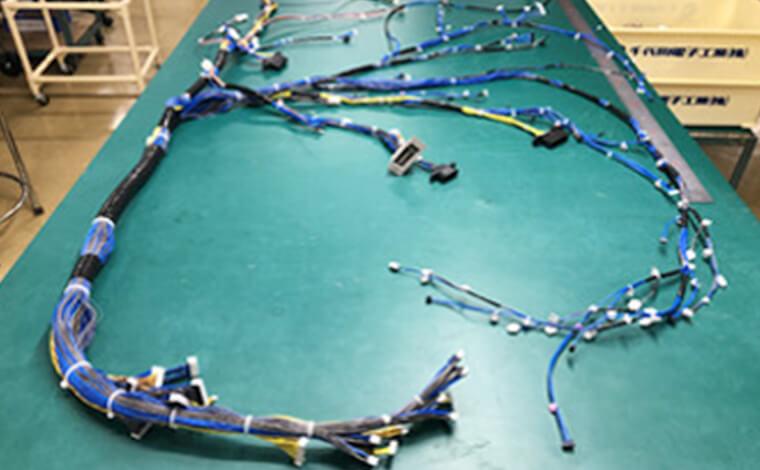 1,000回路以上の組ハーネスに対応